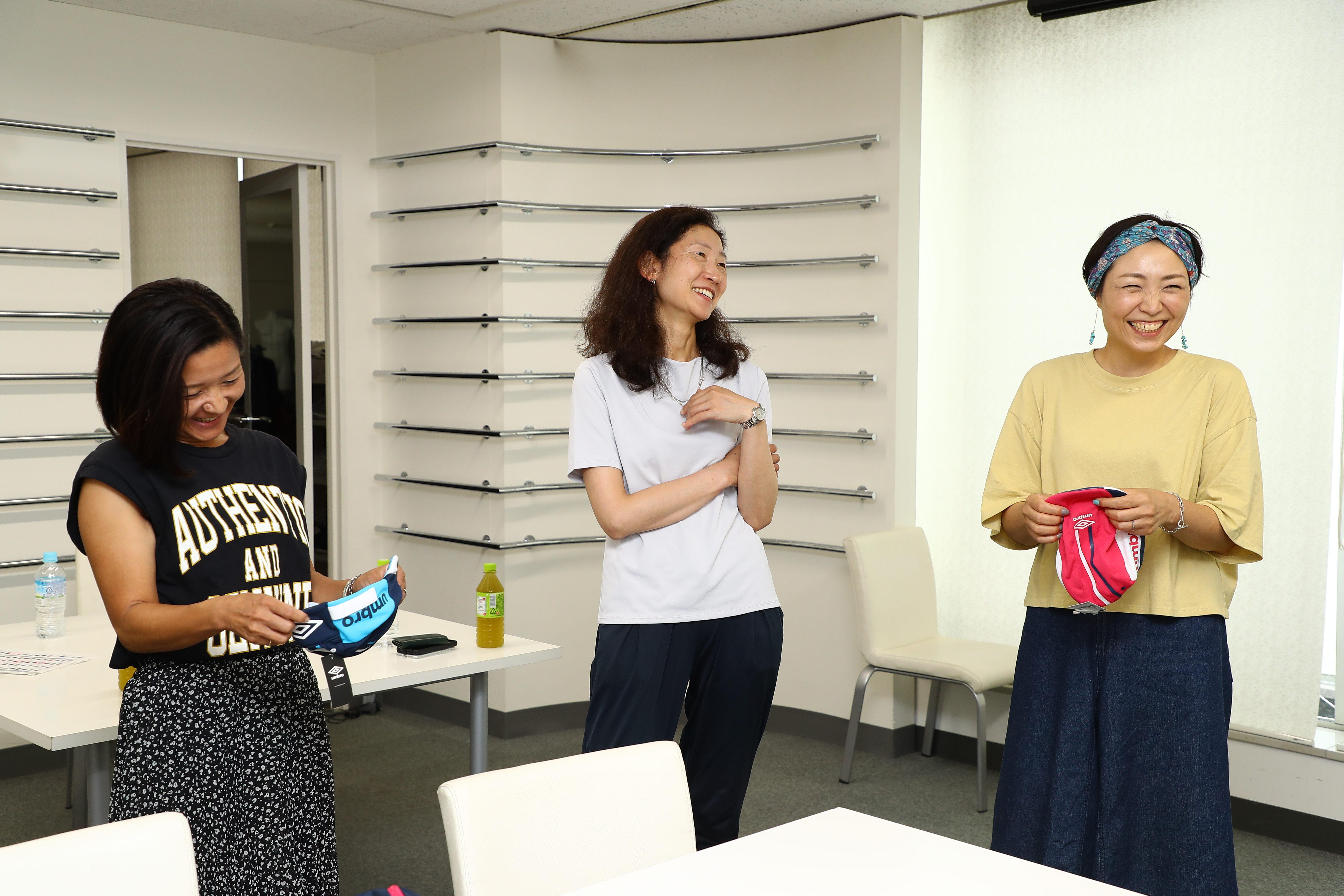 サッカーママのスポーツメーカー訪問(前編)子どもたちを暑さから守れ!「アンブロ」が自信を持ってサッカーママにオススメしたい3つの暑さ対策アイテム